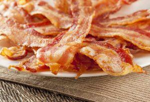 healthy brunch-choose bacon over sausage