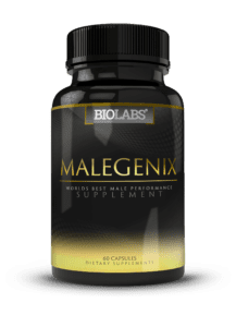 Bottle of MaleGenix Pills