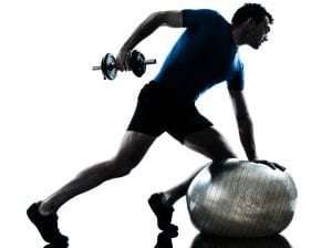 man exercising with more vigor from Progentra
