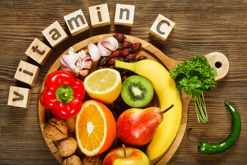 Vitamin C blocks, fruit sources