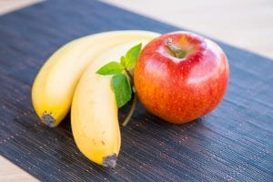 banana and apple for mental health