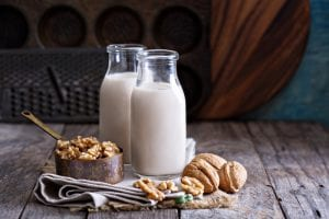 walnut and milk helps with sleep