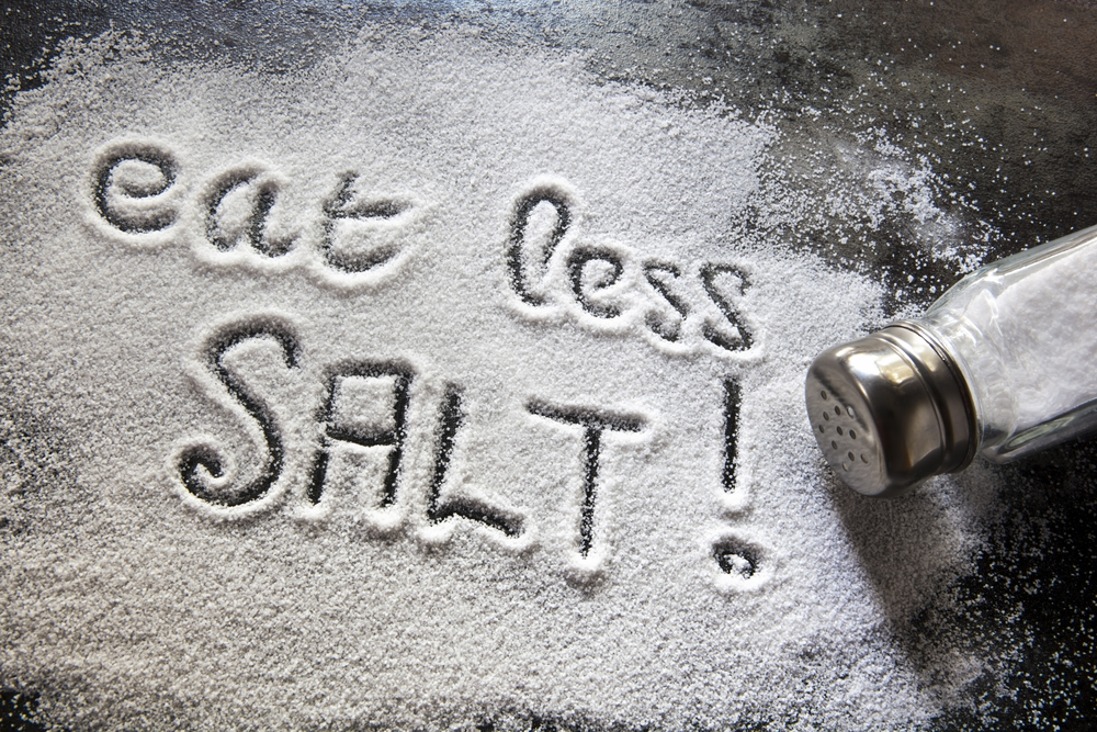 eat less salt!