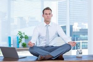 meditationg after work